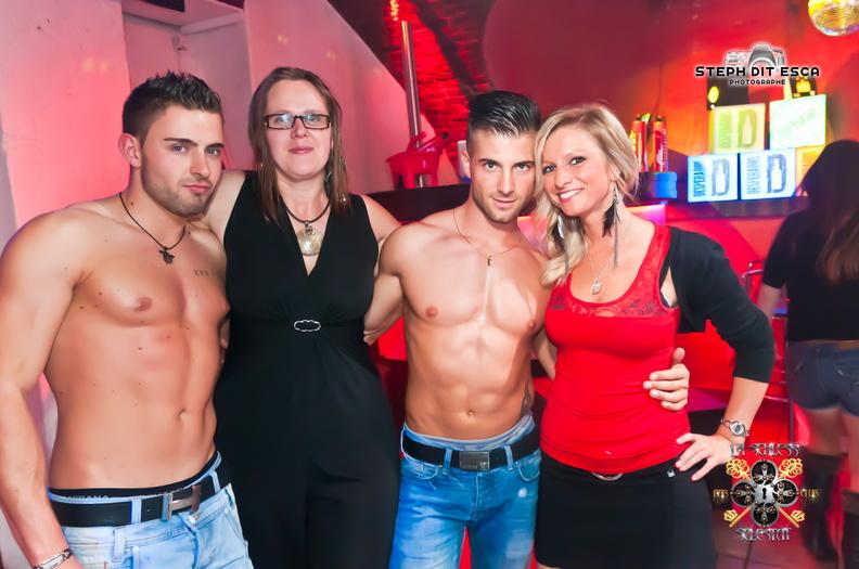 Adriano stripteaseur la schless alsace