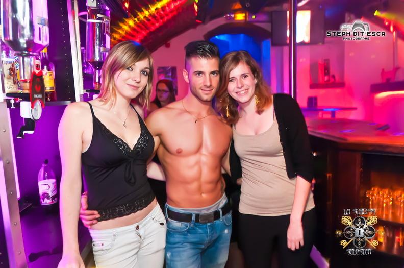 Stripteaseur Alsace adriano