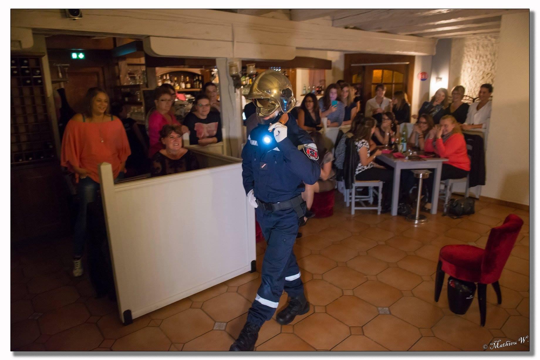 striptease pompier chippendale
