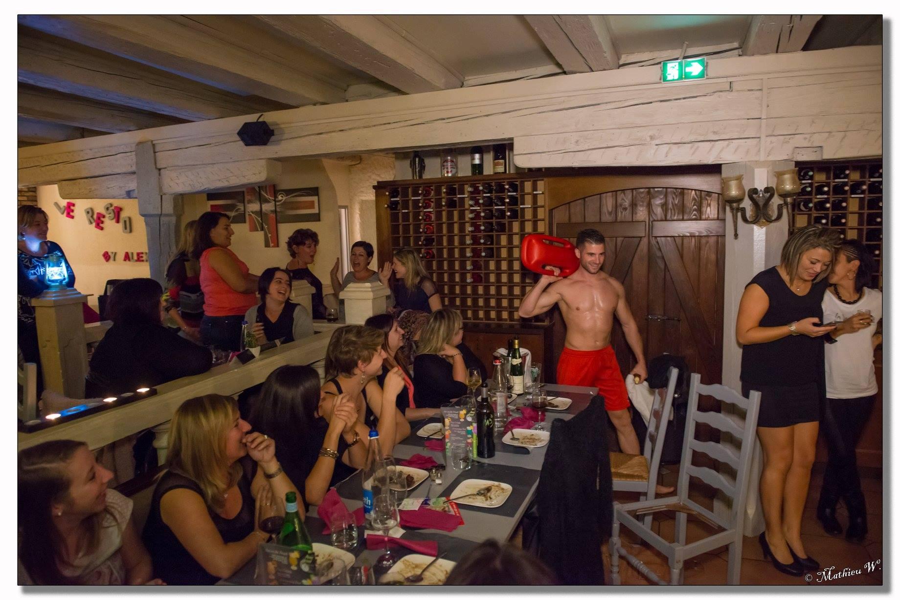 Stripteaseur Colmar